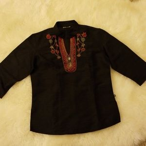 Hand Embroidered Top/Blouse
